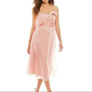 Gianni Bini Layla Strapless Mini Dress Size 10
